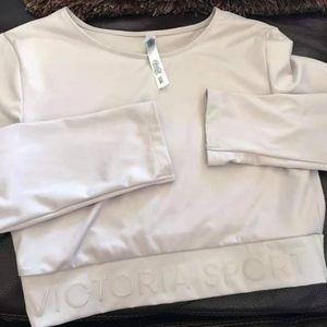 Victoria's Secret Sport Lilac Crop Top Size S